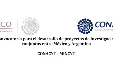 Convocan a presentación de proyectos de investigación conjuntos entre Argentina y México