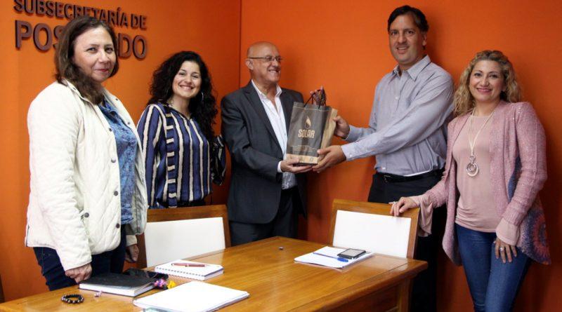 Estudiante de posgrado de la Universidad Nacional de Santiago del Estero realiza prácticas en la UNLaR