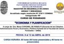 """Abren inscripciones para curso de posgrado """"Economía y Planificación"""""""